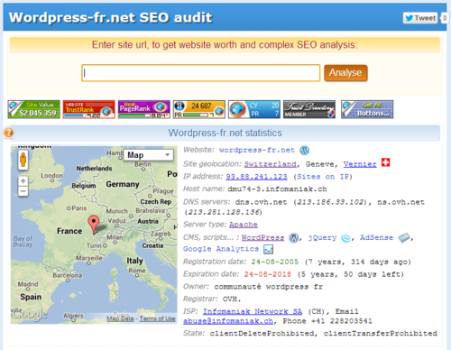 SEO audit slideshow