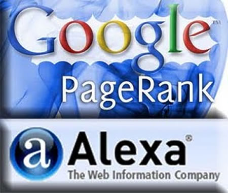 Google PageRank And Alexa Rank