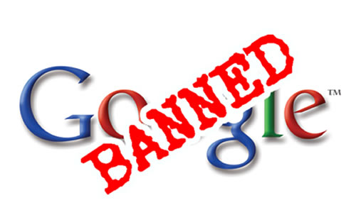 Google Banned