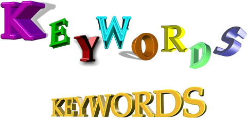 proper keywords for website